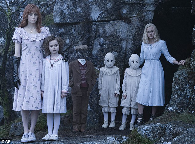 School's out: Miss Peregrine's School For Peculiar Children fell to second place with $15 million in its second week, bringing its domestic haul to $51.1 million