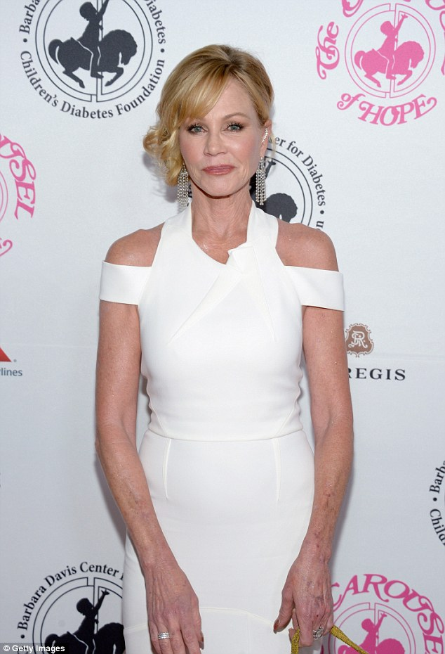 Single life: A mother of three, Melanie split from her husband, actor Antonio Banderas, last year