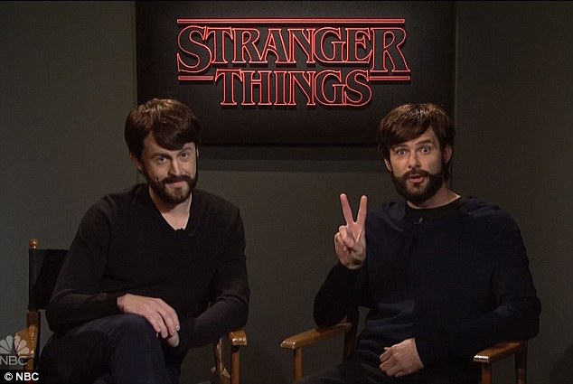 Teaser: In a preview for season two of the hit Netflix show, the 'Duffer Brothers' promised to answer some of the pressing questions from the first, including where the Upside Down was, if Barb was coming back, and 'where is that black kid's family?'
