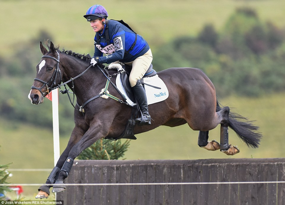 Giddy up!Back in 2012, Zara competed as Ms Phillips - but earlier this year she rode under her married name of Tindall for the first time