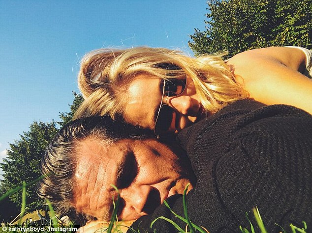 So in love: The pair shared candid snaps while in Italy on their romantic European honeymoon