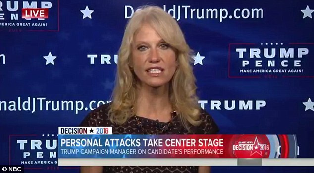 'Quip': Conway said Trump's 'you'd be in jail' comment was simply a joke