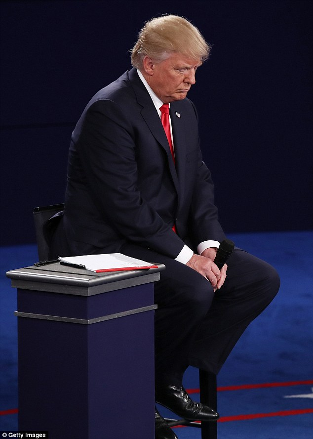 Trump apologized late Friday night in a statement and reiterated his contrition at Sunday evening's presidential debate. Pence said Monday it was apparent that Trump was 'deeply sorry'
