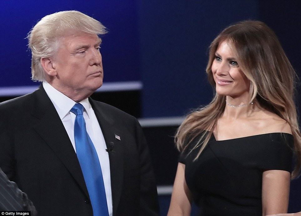 Melania Trump has called her husband's lewd remarks about women from a 2005 video 'unacceptable and offensive' in a statement