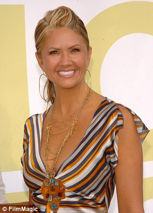 Nancy O'Dell is seen attending the 2005 MTV Video Music Awards in Miami, Florida