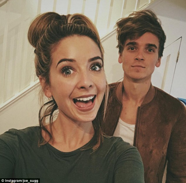 Moving on: Although it fizzled out, Joe (pictured right beside his sister Zoe) is reportedly 'desperate' to get in contact with her again