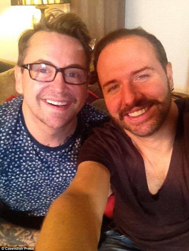 Mr Steed was picked to take part in Gogglebox at the start of its run due to his fun personality, pictured here with his co-star and ex-boyfirend Stephen Webb