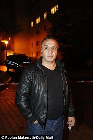 Ahmed Sen, 42, slammed Albakr as an 'a*******' for his terrorist plot in Chemnitz