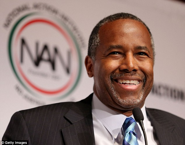 Ben Carson, one of Trump's most senior advisers, is being considered as a potential running mate for Pence if he is pushed to the top of the ticket