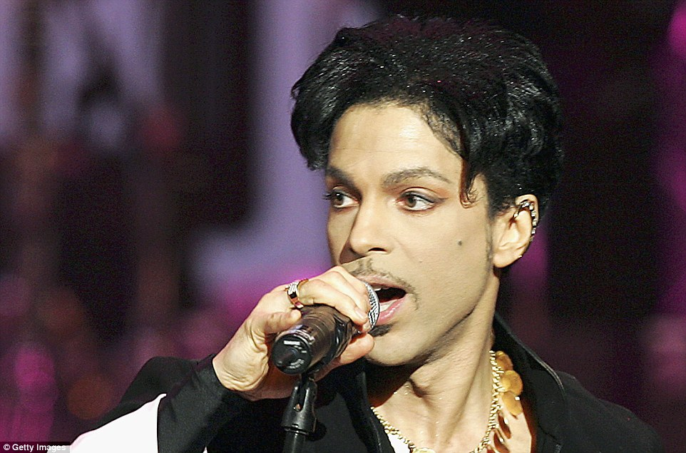 Star: Prince died on April 21 from an accidental overdose of painkillers, at the age of 57