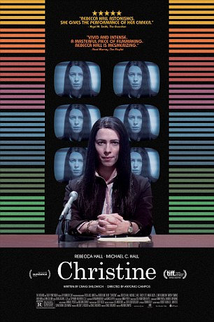 Rebecca Hall will portray her in Christine