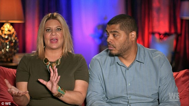 Stormy waters: Mob Wives star Karen Gravano and boyfriend, Storm, said they had been together for four years and their relationship had been ¿a very rocky road.¿