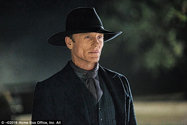 Creepy: Ed Harris plays a murderous guest who is determined to get to a deeper level of the park