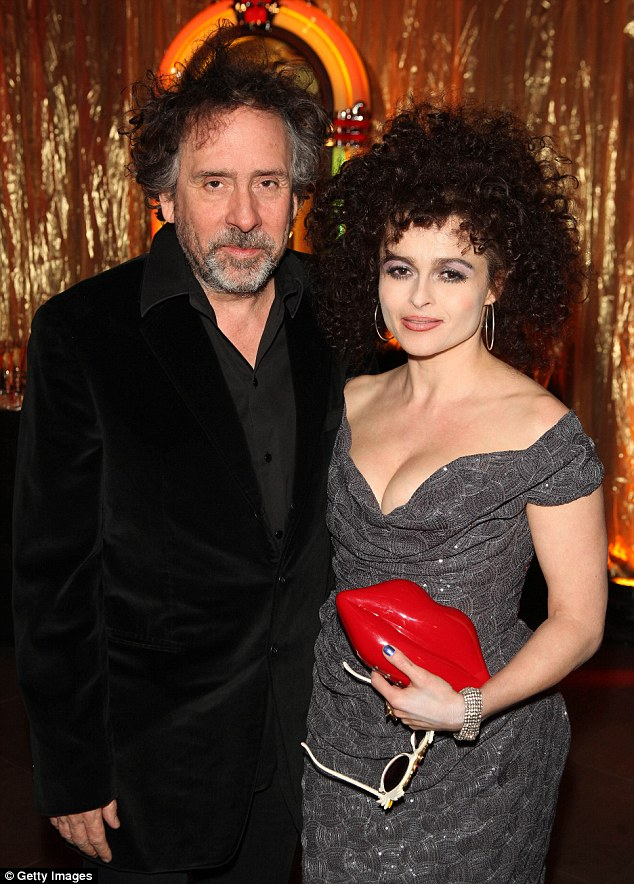 In the past: Helena and Tim got together in 2001 after he cast her in Planet Of The Apes (pictured in 2013)