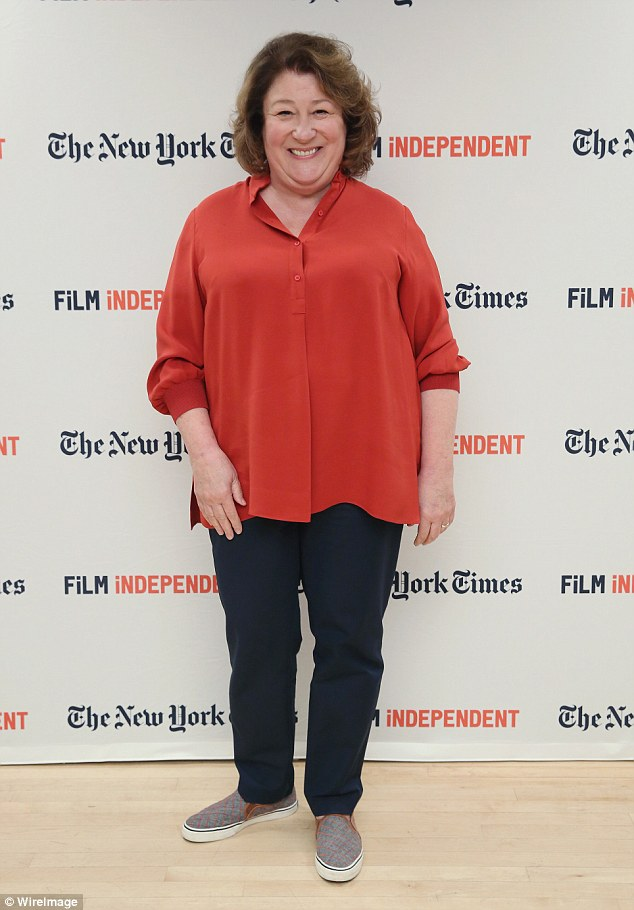 Enthusiastic: Actress Margo Martindale, 65, also participated in the fun read