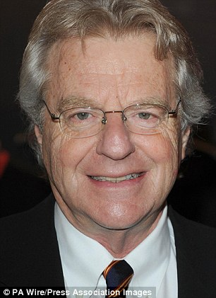 Jerry Springer (pictured) invited Donald Trump and Mike Pence onto his show 'to talk things out'