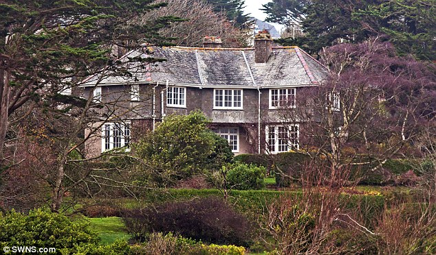 Gordon Ramsay, 49, bought the £4.4million five-bedroom property in Rock, Cornwall, last year (pictured). He plans to demolish it and replace it with a larger property