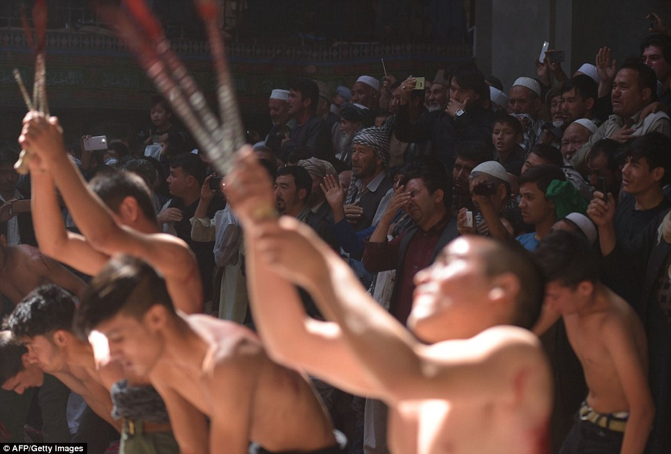 Agony: A national holiday in many countries, thousands take part in the annual rituals which include people whipping and cutting themselves with chains and knives