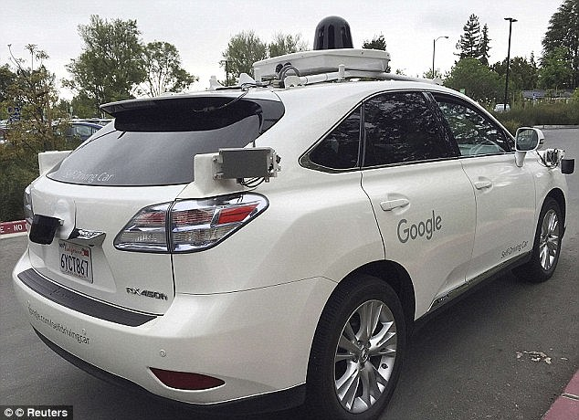 The addition of the minivans marks another step in Google¿s ambitions for automation and a 'commercialisation friendly' vehicle. Google's current fleet of vehicles with its current fleet of self-driving vehicles is limited to its bubble car design as well as Lexus SUVs (pictured)