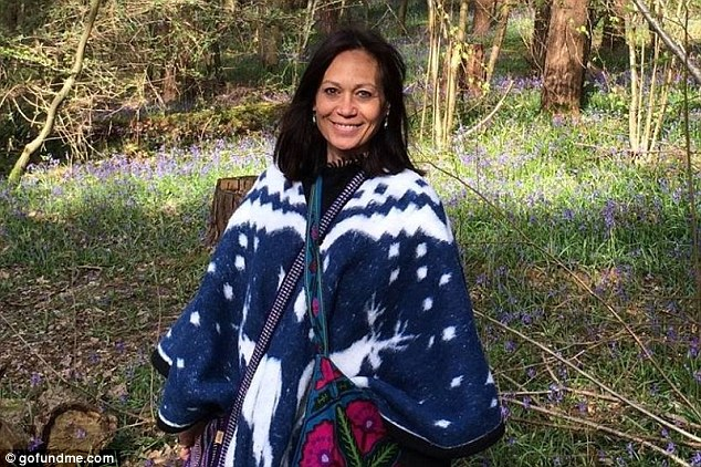 Leah Bracknell has said that she feels 'extremely blessed' after fans raised £50,000 for her to undergo 'cutting edge' lung cancer treatment