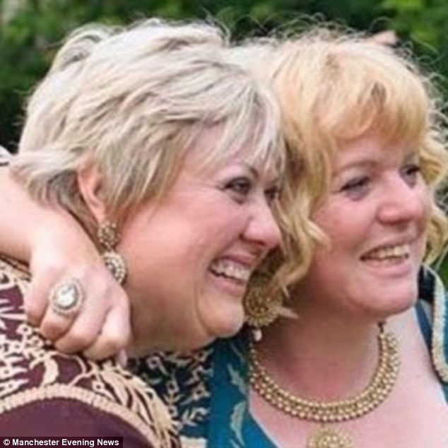Nikki and Cate, pictured on their wedding day, admit they are passionate about upcycling and transforming waste - and love taking property wrecks and making them into family homes