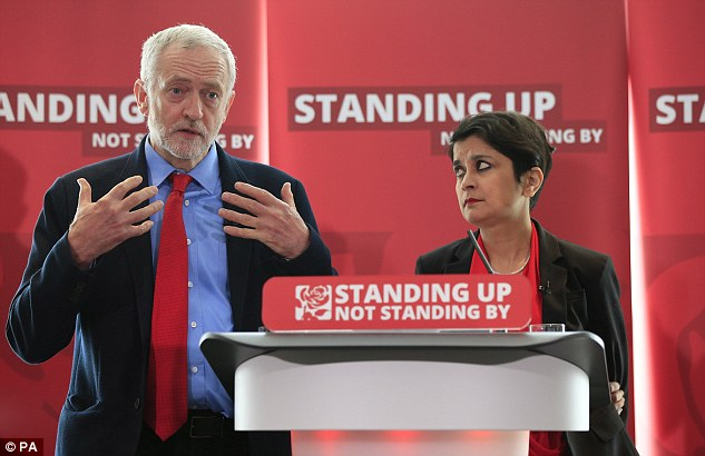 Shami Cakrabarti was controversially made a peer by close ally Jeremy Corbyn