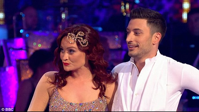 Bottom two:Laura and Giovanni did their Salsa to Rhythm of The Night by Valeria Andrews from the movie Moulin Rouge