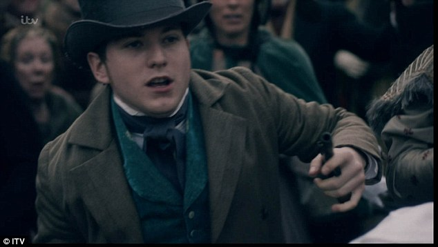 Drama:19 year-old Edward Oxford's assassination attempt actually took place in Green Park in 1840, when Victoria was only four months pregnant. But this version was more dramatic