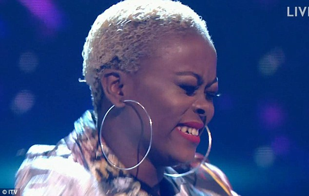 Well, that's no surprise!Returning act Gifty Louise also made it through