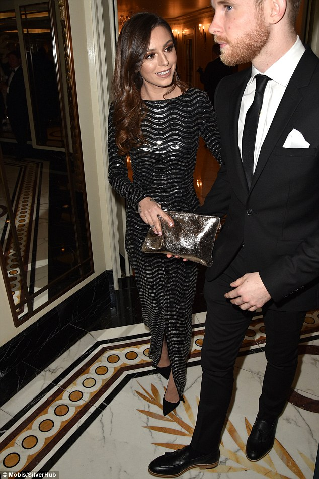 In love: Cher stunned at the event, which she attended alongside her husband