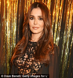 Resemblance:Twitter went wild for her new look earlier this month, with users noticing a striking resemblance with the starlet's mentor on the ITV series Cheryl Cole