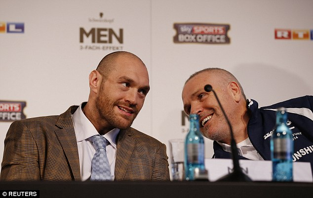 Trainer Peter Fury (right) said they can be stripped - if Tyson is given chance to win them back