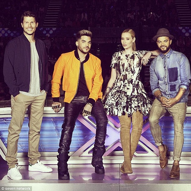 'I try to be nice as I can': Iggy has been called the 'tough' judge on The X Factor
