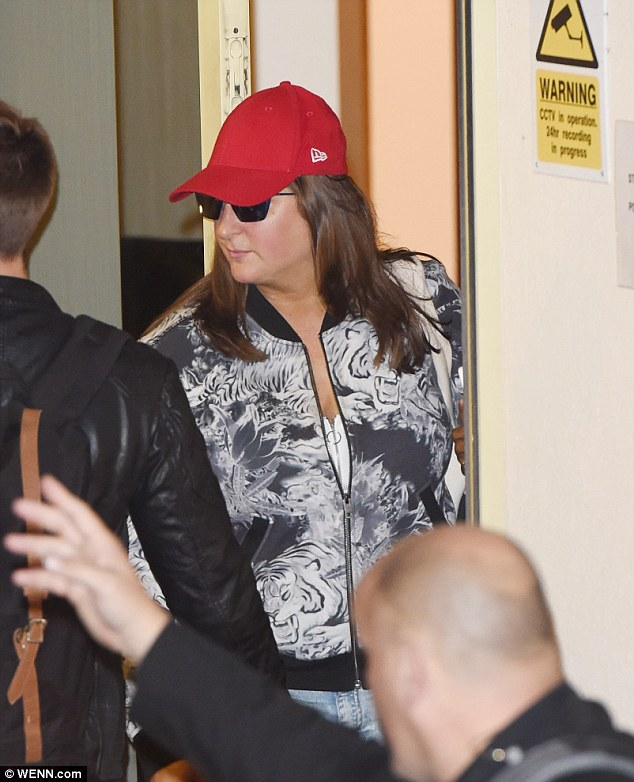 Heading home: Honey G's was one of the most talked about performance of the night