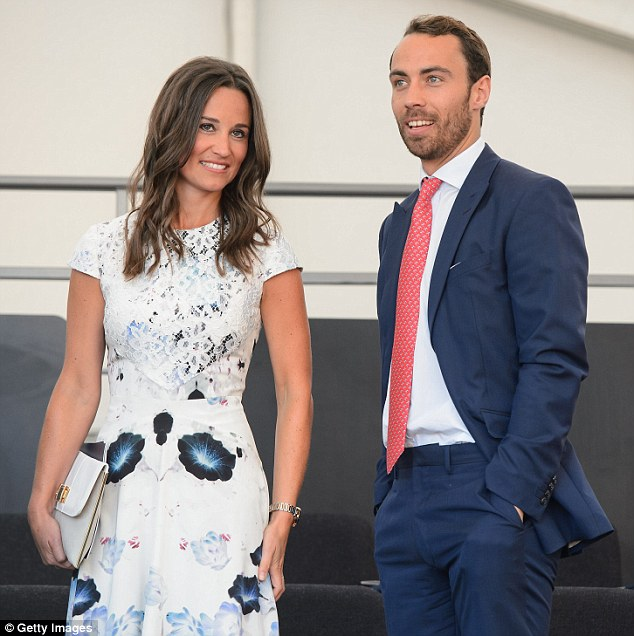 You cannot fault James Middleton (pictured with his sister Pippa) as he comes up with more weird and wonderful ideas