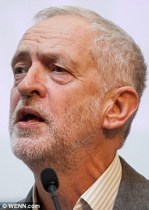 Jeremy Corbyn (above) promoted his former lover to shadow home secretary last week