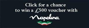 Win a £500 voucher with Napolina