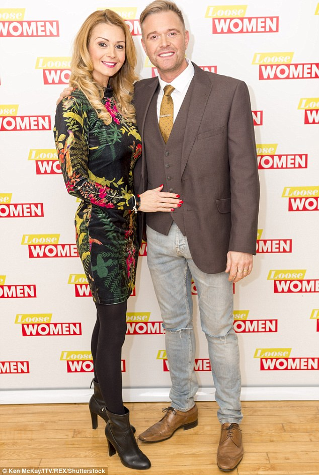 Can't have it all: The actress later joked that Darren is a terrible house husband, stating: 'He can't work a washer and doesn't know what a tumble dryer is!'