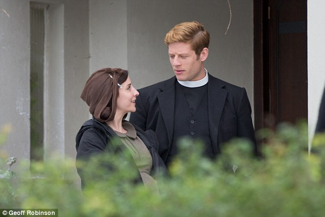 Anticipated: The six new episodes are being filmed in London and Grantchester as well as in Cambridge's city centre
