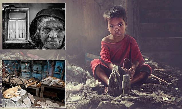 Life on the streets: Images from around the world capture the hardships of being homeless