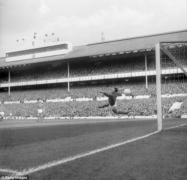 Dunne, pictured playing at White Hart Lane, was paid £35 a week during his days at United