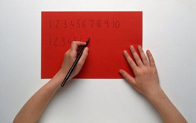 A study in May found a significant correlation between people's handedness and their ability to perform arithmetic tasks
