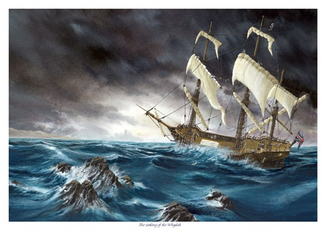 The former slave ship, commanded by the English pirate Samuel 'Black Sam' Bellamy, went down in stormy seas off Wellfleet, Massachusetts, in 1717, killing all but a handful of the nearly 150-person crew