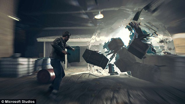 Quantum Break features highly destructive environments that can be manipulated with time powers