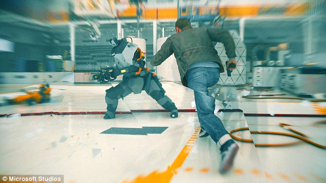 Quantum Break has many striking visual effects, including a creative use of anti-aliasing