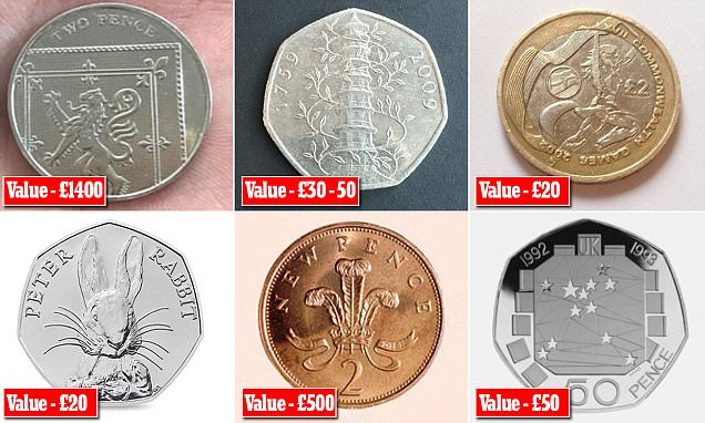 Our guide to the valuable coins that can turn up in your change