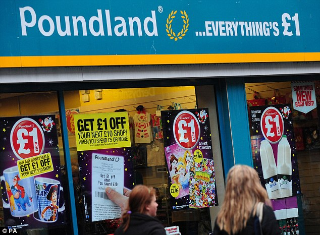 The discount store Poundland, pictured above, now sells sex toys for just £1