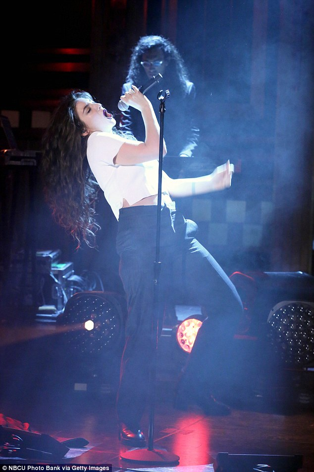 Singing superstar: Lorde, who shot to fame in 2013 after her debut single Royals reached the top position across multiple music charts, has gone on to receive top gongs including Grammy Award for Song of the Year