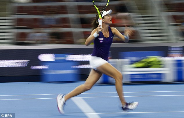 Konta still makes it into the world's top 10 after her impressive run at the China Open