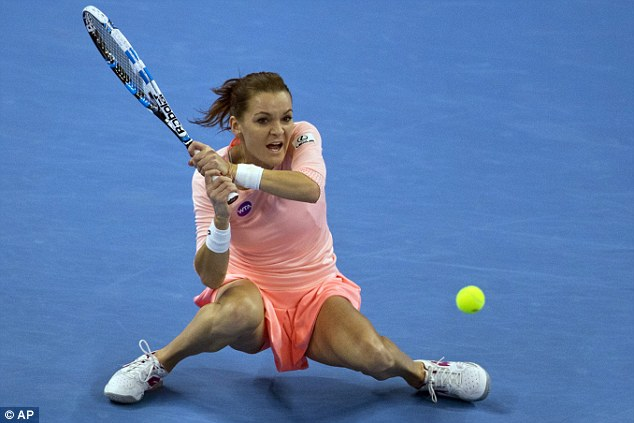 Poland's Radwanska was too strong for Konta, showing why she is ranked third in the world